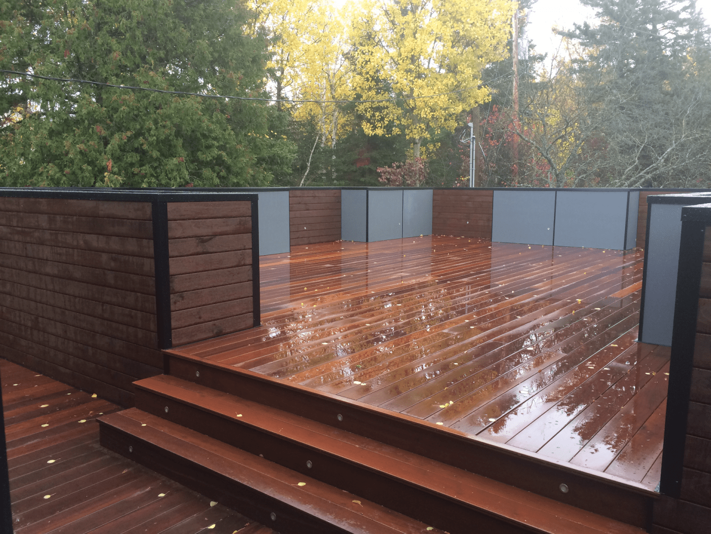 Rénovation d'un patio