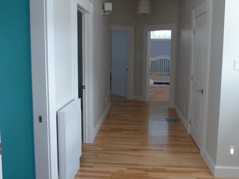 Rénovation intérieure corridor de maison