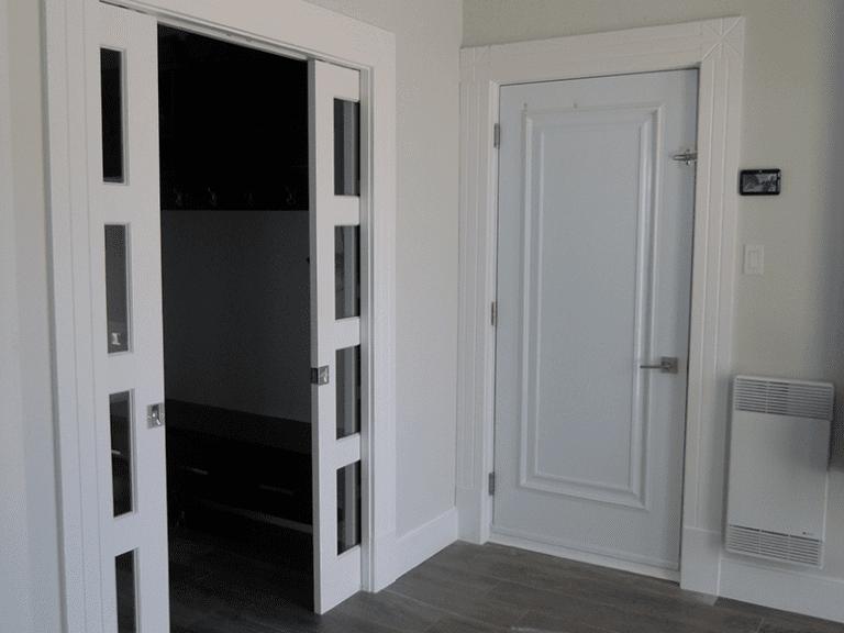 Rénovation intérieure entrée de maison